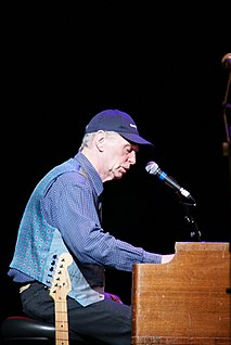 Georgie Fame English rhythm and blues and jazz singer and keyboard player