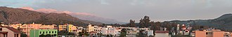 Georgioupoli - Sunrise over Georgioupoli and Lefka Ori (White Mountains)