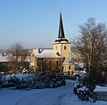 Gera-Thieschitz, Kirche im Winter.JPG