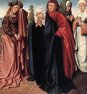 The Holy Women and Saint John at Golgotha