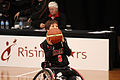 Germany vs Japan women's wheelchair basketball team at the Sports Centre (IMG 3262).jpg