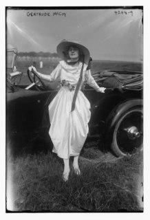 Gertrude McCoy American actress