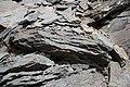 Gestein in einer Schlucht bei der Festung Amberd, Armenien II.jpg