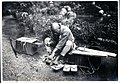 Geta repairer as pedlar in Japan (1915 by Elstner Hilton).jpg