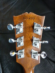 Gibson J-50 (SN 871234) headstock rear (photo by Henry Zbyszynski).jpg