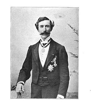 Gilbert Munger - Gilbert Munger, photograph taken ca. 1870.