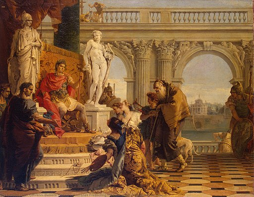 Giovanni Battista Tiepolo - Maecenas Presenting the Liberal Arts - 1743