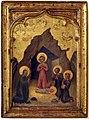 Giovanni di paolo, adorazione del bambino, 1430-40 ca.jpg
