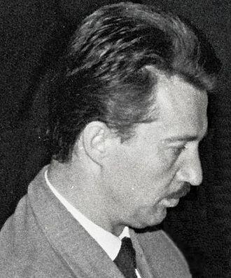 Svetozar Gligorić - Gligorić at Oberhausen 1961