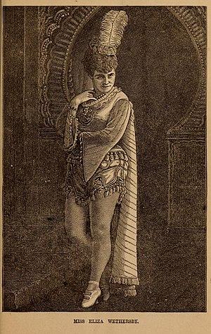 Nathaniel Carl Goodwin - Miss Eliza Weathersby