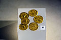 Gold coins in Museo archeologico nazionale (Taranto).jpg