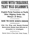 Gone With Treasure That Was Solomon's.jpg