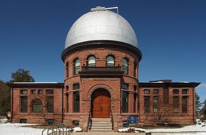 Carleton College - Goodsell Observatory at Carleton College is on the National Register of Historic Places and is currently the largest observatory in Minnesota
