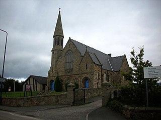 Gorebridge village in the United Kingdom