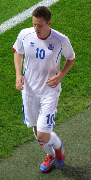 UEFA Euro 2016 qualifying Group A - Iceland's Gylfi Sigurðsson is the group's leading goalscorer with 6 goals