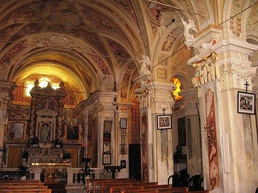 Gottasecca. Santuario della Madonna Assunta Interno1