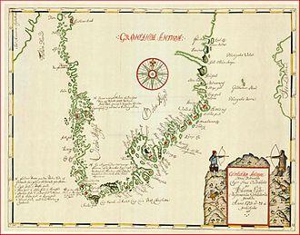 Hans Egede - Image: Grønlandiæ antiqva hans egede 1723