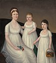 Grace Allison McCurdy and Her Daughters, Mary Jane and Letitia Grace by Joshua Johnson - Stierch.jpg