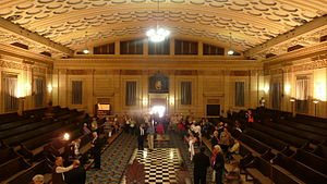 Masonic Temple, Brisbane - Grand Hall, 2011