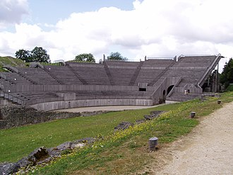 Grannus - The amphitheatre in Grand, dedicated to Apollo. The name of Grand has been linked to Grannus.