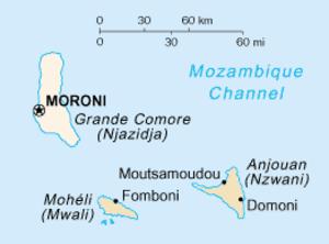 Grande Comore - Image: Grande Comore in Comoros