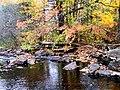 Grant's Creek (Tay River) at Allan's Mill, October, 2009 (5021215666).jpg
