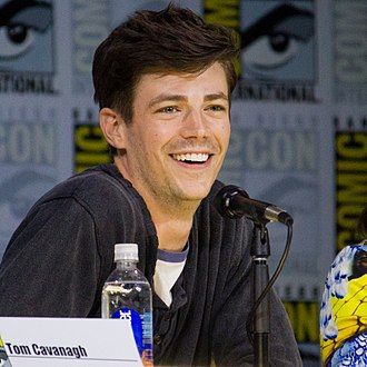 Grant Gustin - Gustin at the 2017 San Diego Comic-Con