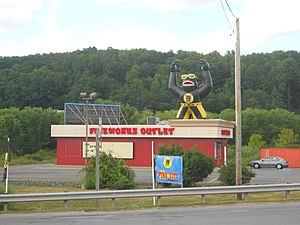 Great Bend Township, Susquehanna County, Pennsylvania - Fireworks store