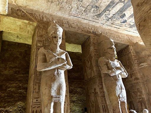 Great Hall, The Great Temple of Ramses II, Abu Simbel, AG, EGY (48017061583)