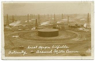 Mexia, Texas - Mexia Oilfields 1920s.