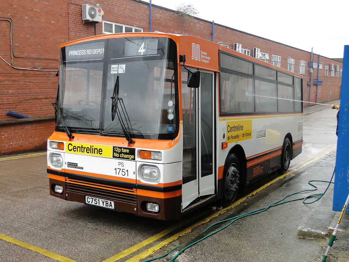 Px Greater Manchester Transport Bus C Yba C March on Power Stering