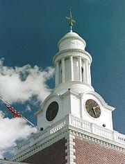 Green Hall Clock Tower