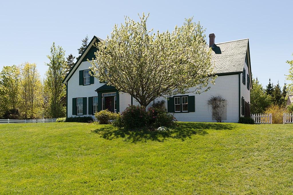 Green Gables House backyard