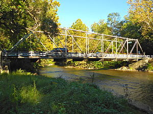 Lower Allen Township, Cumberland County, Pennsylvania - Etters Bridge, spanning Yellow Breeches Creek