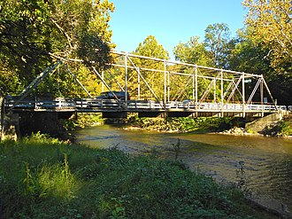 Lower Allen Township, Cumberland County, Pennsylvania - Etters Bridge, spanning Yellow Breeches Creek