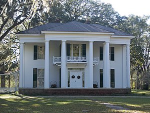 National Register of Historic Places listings in Jackson County, Florida - Image: Greenwood Great Oaks 01