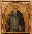Gregorio di cecco (attr.), santo monaco martire, 1420 ca.jpg