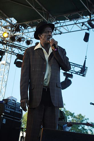 Gregory Isaacs - Performing at the Sierra Nevada World Music Festival in 2010