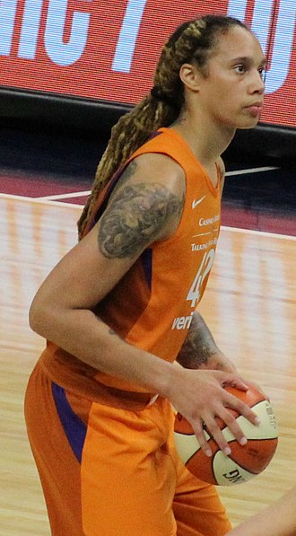Brittney Griner - Griner shooting a free throw in 2018