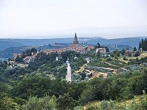 Grožnjan - View of Grožnjan/Grisignana