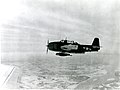 Grumman TBM Avenger in flight with ASM-N-2 Bat missile.jpg