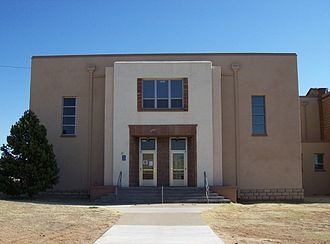 Santa Rosa, New Mexico - New wing, Guadalupe County Courthouse