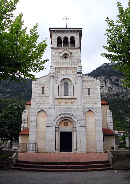Église Sainte-Eulalie, Guilherand-Granges, Ardèche, France.