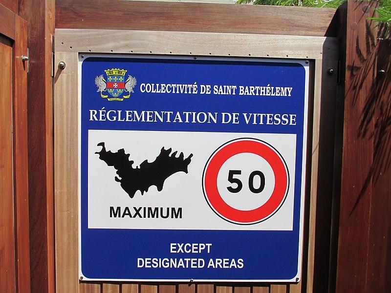File:Gustavia (Saint-Barthélemy) — Sign at the border.JPG