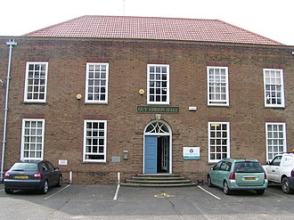 Manby - Image: Guy Gibson Hall, Manby geograph.org.uk 447617