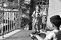 Gyerekek 1940-ben Budapesten a földszinti teraszon. Fortepan 16971.jpg