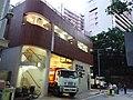 HK 灣仔 Wan Chai 交加里 Cross Lane Rubbish car n station evening August 2019 SSG 06.jpg