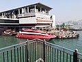 HK SW 上環 Sheung Wan near 信德中心 Shun Tak Centre 天橋 footbridge view 維多利亞海港 Victoria Harbour February 2020 SS2 05.jpg