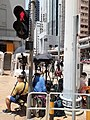 HK SYP 西營盤 Sai Ying Pun 德輔道西 Des Voeux Road West 傳媒 記者 media reporters near Police Station August 2020 SS2 06.jpg