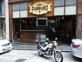 HK Soho Central 28 Elgin Street Posto Pubblico motobike Oct-2012.JPG